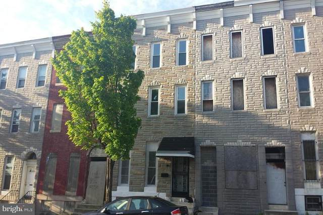 1715 Edmondson Avenue, BALTIMORE, MD 21223 (#MDBA546498) :: The Miller Team