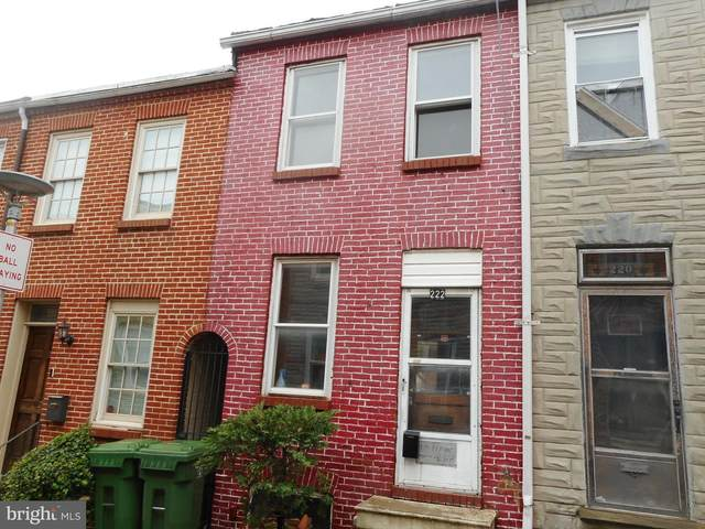 222 S Madeira Street, BALTIMORE, MD 21231 (#MDBA546532) :: Colgan Real Estate