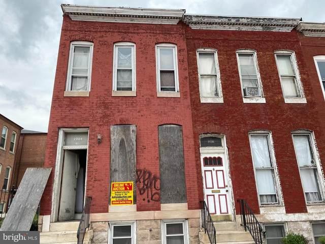2004 E North Avenue, BALTIMORE, MD 21213 (#MDBA546556) :: Colgan Real Estate