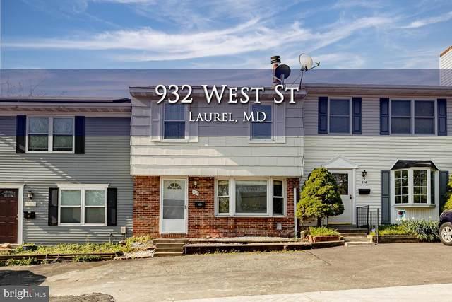 932 West Street, LAUREL, MD 20707 (#MDPG602658) :: The Riffle Group of Keller Williams Select Realtors
