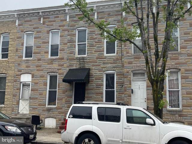 343 S Monroe Street, BALTIMORE, MD 21223 (#MDBA546646) :: Bruce & Tanya and Associates