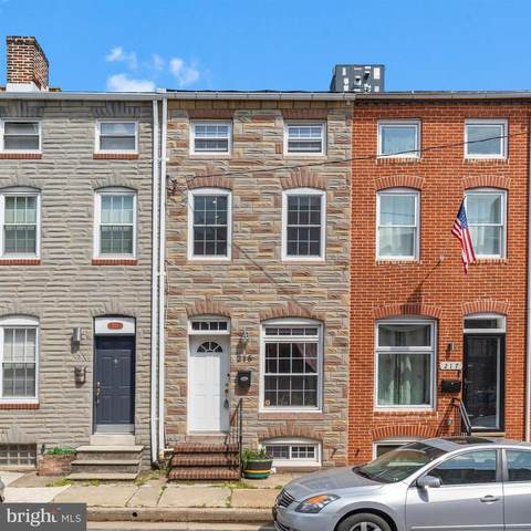 215 S Regester Street, BALTIMORE, MD 21231 (#MDBA546728) :: ExecuHome Realty
