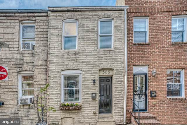 506 S Bradford Street, BALTIMORE, MD 21224 (#MDBA546768) :: Berkshire Hathaway HomeServices McNelis Group Properties