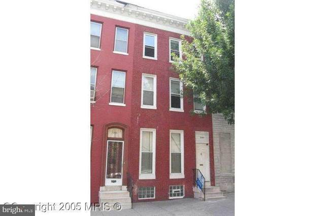 1509 E Biddle Street, BALTIMORE, MD 21213 (#MDBA546850) :: AJ Team Realty