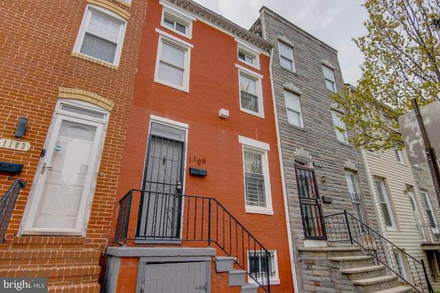 1105 W Lombard Street, BALTIMORE, MD 21223 (#MDBA546950) :: Bob Lucido Team of Keller Williams Lucido Agency