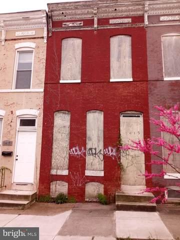 1415 E Lanvale Street, BALTIMORE, MD 21213 (#MDBA547030) :: ExecuHome Realty
