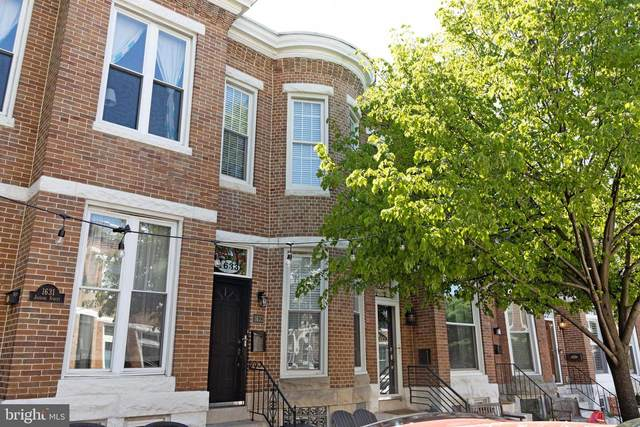 1633 Jackson Street, BALTIMORE, MD 21230 (#MDBA547142) :: The Miller Team