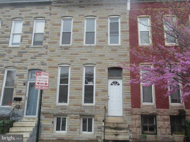 605 N Payson Street, BALTIMORE, MD 21217 (#MDBA547146) :: Berkshire Hathaway HomeServices McNelis Group Properties