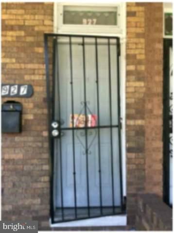 927 N Bentalou Street, BALTIMORE, MD 21216 (#MDBA547148) :: Compass