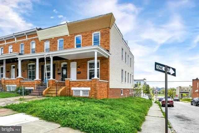 1801 E 30TH Street, BALTIMORE, MD 21218 (#MDBA547150) :: Dart Homes