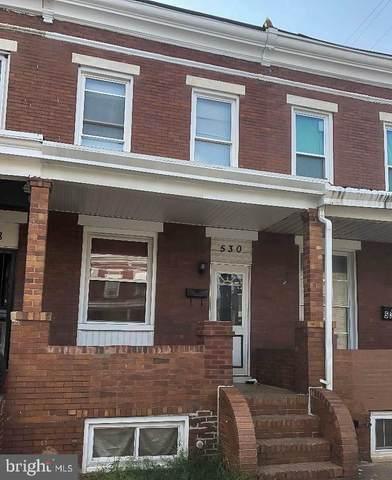 530 N Potomac Street, BALTIMORE, MD 21205 (#MDBA547170) :: The Miller Team
