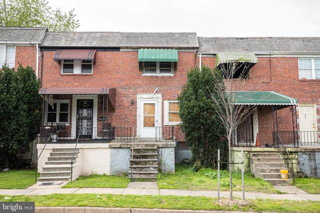 825 Bonaparte Avenue, BALTIMORE, MD 21218 (#MDBA547320) :: Bowers Realty Group