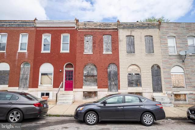 2304 E Hoffman Street, BALTIMORE, MD 21213 (#MDBA547346) :: Bowers Realty Group