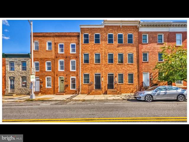 1121 S Hanover Street, BALTIMORE, MD 21230 (#MDBA547378) :: The Dailey Group