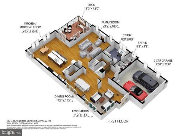 609 Tapawingo Road SW, VIENNA, VA 22180 (#VAFX1194412) :: Jacobs & Co. Real Estate