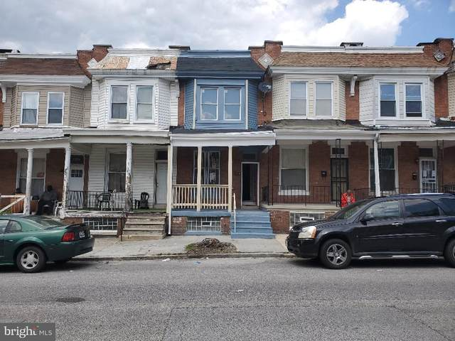 2220 W Fayette Street, BALTIMORE, MD 21223 (#MDBA547544) :: AJ Team Realty