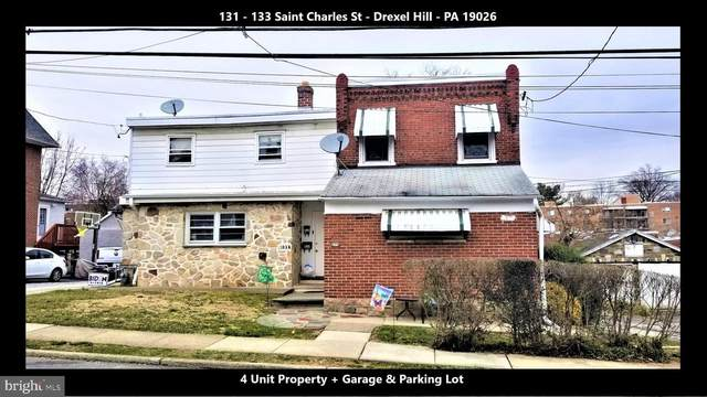 131-133 Saint Charles Street, DREXEL HILL, PA 19026 (#PADE543882) :: Jason Freeby Group at Keller Williams Real Estate