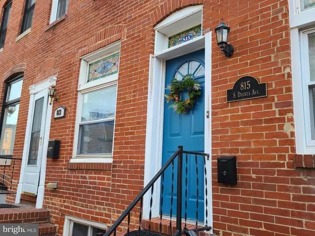 815 S Decker Avenue, BALTIMORE, MD 21224 (MLS #MDBA547624) :: Maryland Shore Living | Benson & Mangold Real Estate