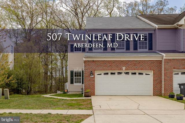 507 Twinleaf Drive, ABERDEEN, MD 21001 (#MDHR258976) :: Bob Lucido Team of Keller Williams Lucido Agency