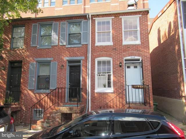 646 Dover Street, BALTIMORE, MD 21230 (#MDBA547806) :: Arlington Realty, Inc.