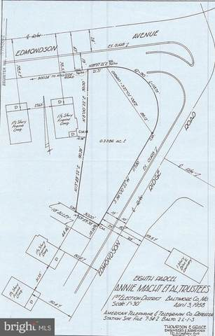 Edmondson, CATONSVILLE, MD 21228 (#MDBC526318) :: Jennifer Mack Properties