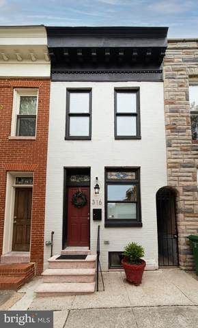 316 S Collington Avenue, BALTIMORE, MD 21231 (#MDBA547972) :: The Miller Team