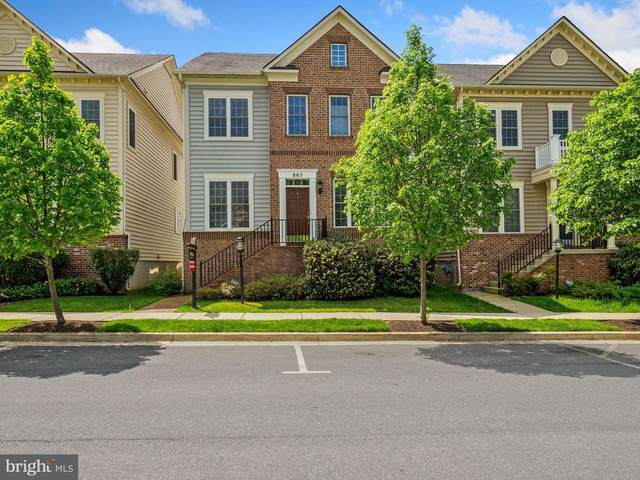 865 Hidden Marsh Street, GAITHERSBURG, MD 20877 (#MDMC754472) :: Team Caropreso