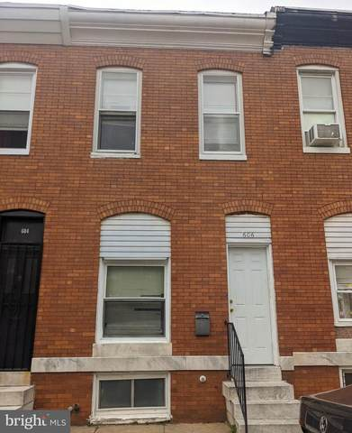 606 N Curley Street, BALTIMORE, MD 21205 (#MDBA548118) :: The Miller Team