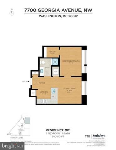 7700 Georgia Avenue NW #001, WASHINGTON, DC 20012 (#DCDC518358) :: Shamrock Realty Group, Inc