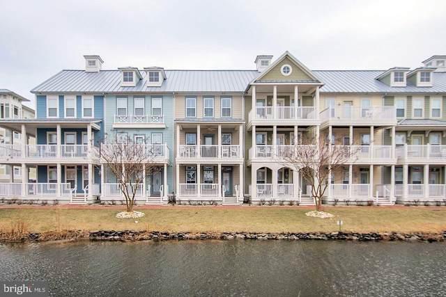 23 Canal Side Mews E E #23, OCEAN CITY, MD 21842 (#MDWO121912) :: Corner House Realty