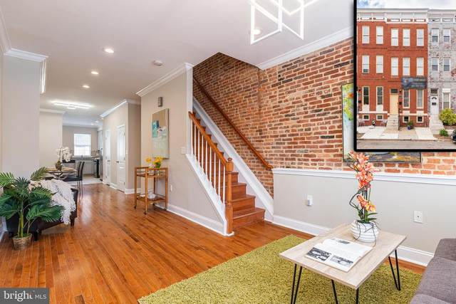 1418 N Bond Street, BALTIMORE, MD 21213 (#MDBA548250) :: The Miller Team