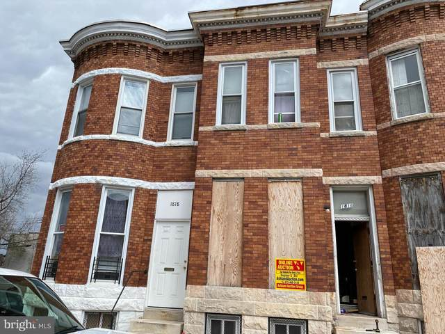 1816 W Lanvale Street, BALTIMORE, MD 21217 (#MDBA548258) :: Bruce & Tanya and Associates