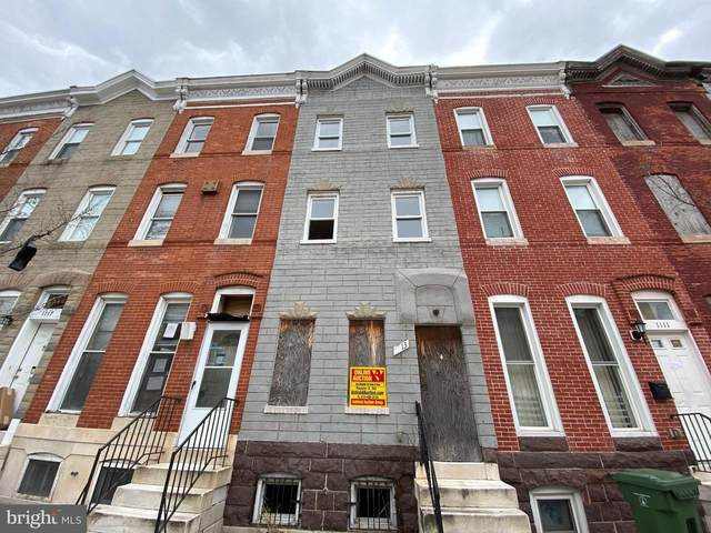 1113 N Stricker Street, BALTIMORE, MD 21217 (#MDBA548262) :: ROSS | RESIDENTIAL