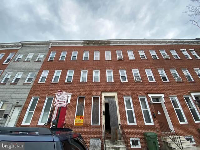 1628 N Gilmor Street, BALTIMORE, MD 21217 (#MDBA548276) :: Dart Homes