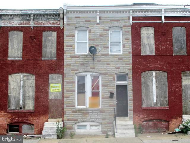 1615 N Patterson Park Avenue, BALTIMORE, MD 21213 (#MDBA548400) :: Dart Homes