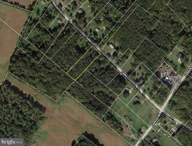 0 Cedar Lane, WOODSTOWN, NJ 08098 (MLS #NJSA141700) :: The Sikora Group