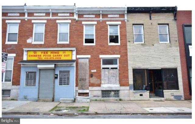 2707 E Monument Street, BALTIMORE, MD 21205 (#MDBA548724) :: Corner House Realty