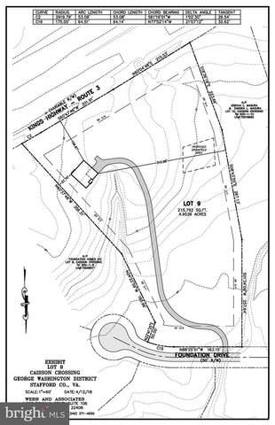 Lot 9 Foundation Drive, FREDERICKSBURG, VA 22405 (#VAST231752) :: Major Key Realty LLC