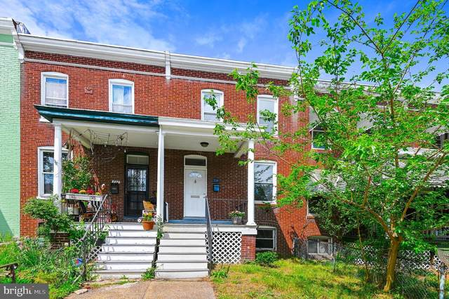 734 E 36TH Street, BALTIMORE, MD 21218 (#MDBA548970) :: Corner House Realty