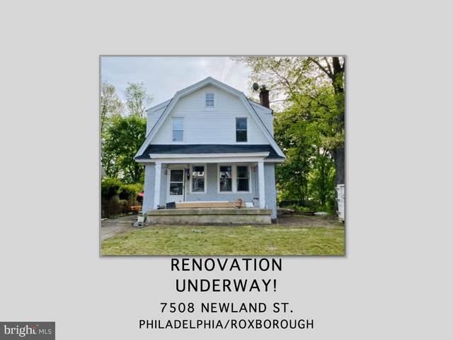 7508 Newland Street, PHILADELPHIA, PA 19128 (MLS #PAPH1012070) :: Kiliszek Real Estate Experts