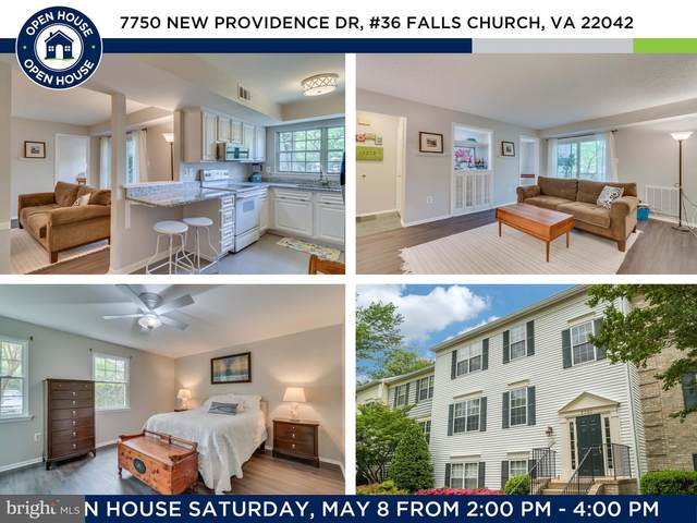 7750 New Providence Drive #36, FALLS CHURCH, VA 22042 (#VAFX1197460) :: Nesbitt Realty