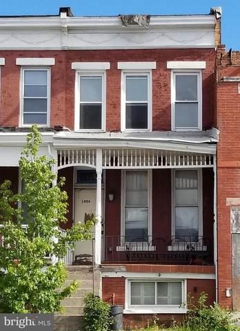 1806 E North Avenue, BALTIMORE, MD 21213 (#MDBA549120) :: Colgan Real Estate