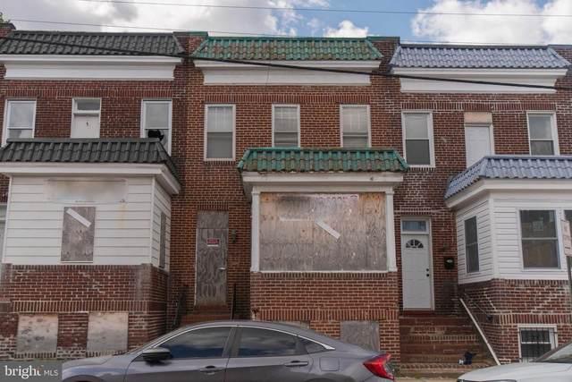 2603 E Biddle Street, BALTIMORE, MD 21213 (#MDBA549268) :: Dart Homes