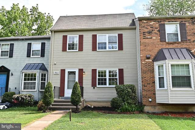 5903 Heritage Square Drive, BURKE, VA 22015 (#VAFX1197966) :: Jacobs & Co. Real Estate