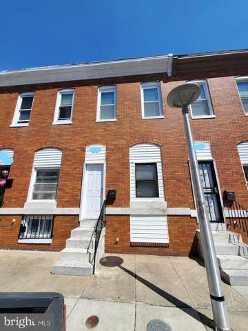 615 N Curley Street, BALTIMORE, MD 21205 (#MDBA549400) :: ExecuHome Realty