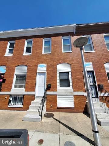 615 N Curley Street, BALTIMORE, MD 21205 (#MDBA549400) :: Dart Homes