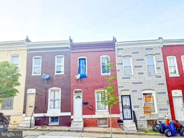 2522 W Fayette Street, BALTIMORE, MD 21223 (#MDBA549518) :: Dart Homes