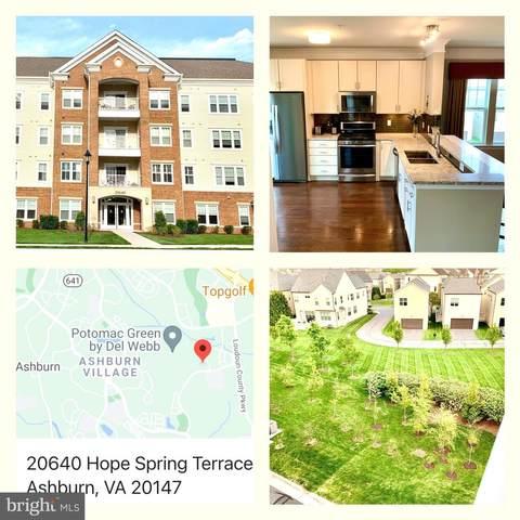 20640 Hope Spring Terrace #401, ASHBURN, VA 20147 (#VALO437504) :: Corner House Realty