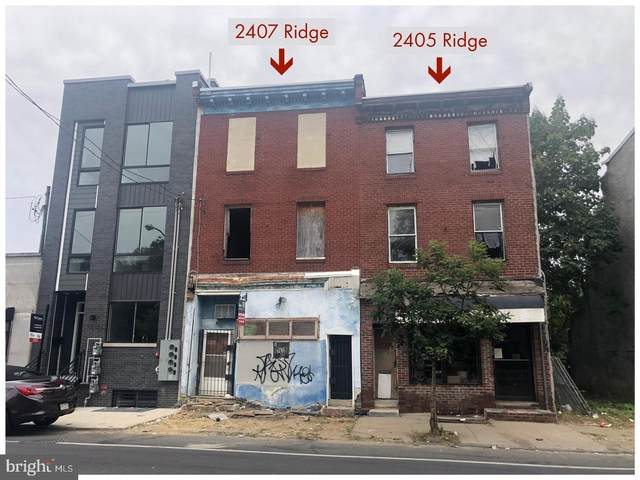 2405 Ridge Avenue, PHILADELPHIA, PA 19121 (#PAPH1013424) :: Better Homes Realty Signature Properties