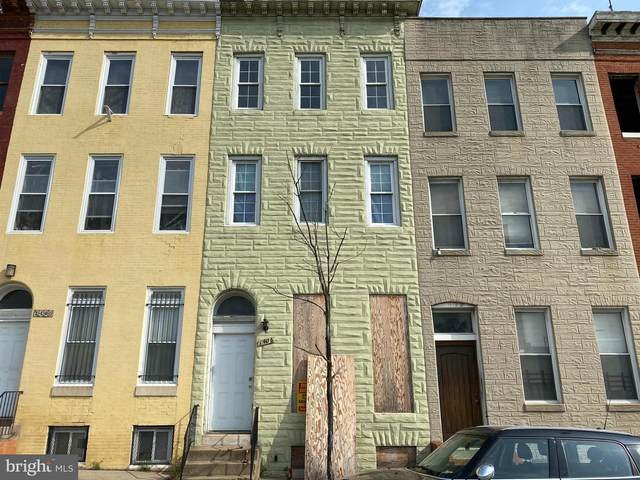 1406 W Franklin Street, BALTIMORE, MD 21223 (#MDBA549808) :: Bruce & Tanya and Associates